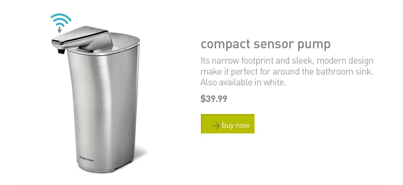 compact sensor pump
