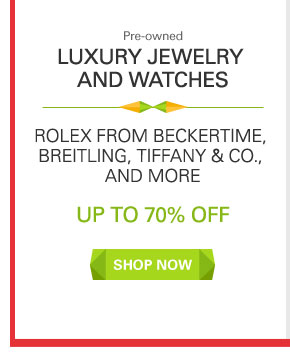 Luxury Jewelry and Watches | SHOP NOW
