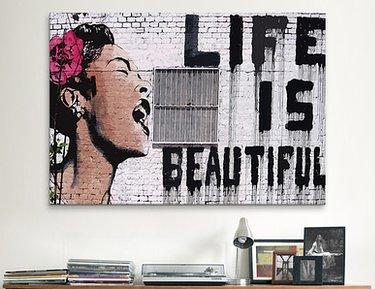 Banksy: Graffiti Artwork