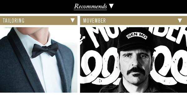 Tailoring | Movember