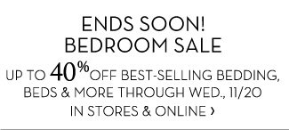 Ends Soon! Bedroom Sale