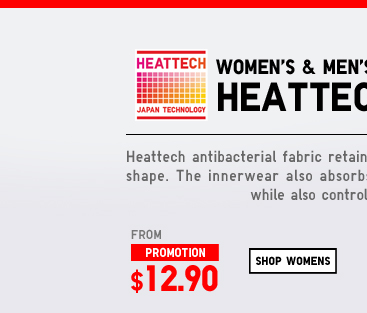 Shop Women's Heattech Innerwear