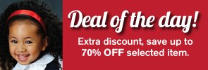 Deal of the Day! Extra discount, save up to 70% OFF selected item.