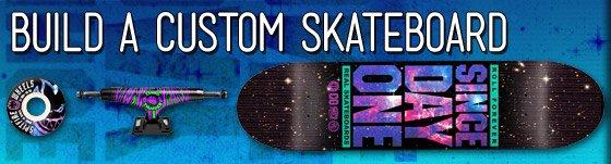 Build A Custom Skateboard