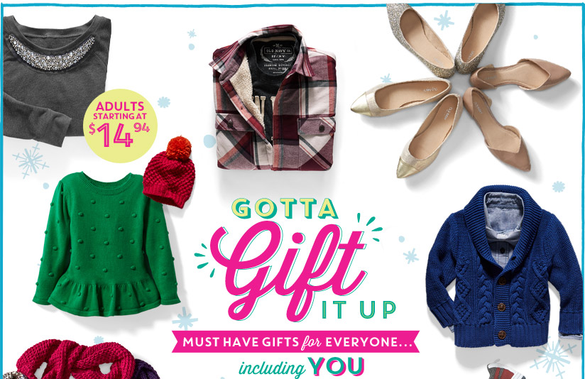 GOTTA Gift IT UP | MUST HAVE GIFTS for EVERYONE... | including YOU | ADULTS STARTING AT $14.94