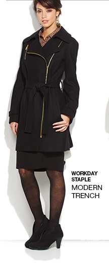 Workday Staple Modern Trench