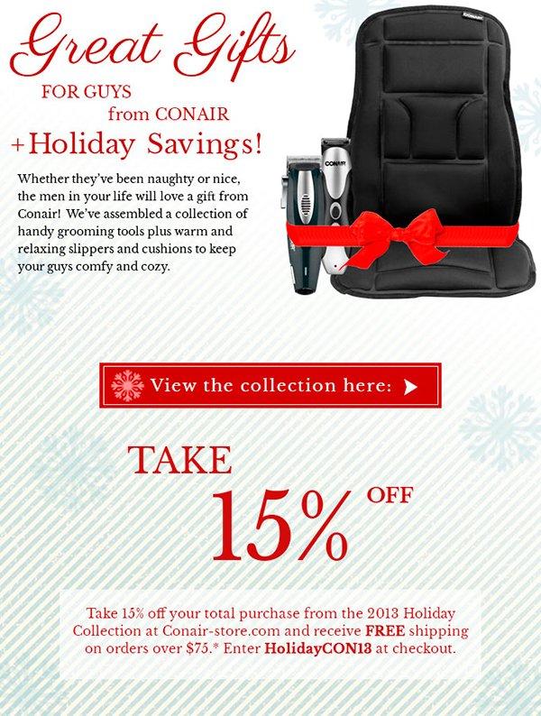 Holiday Hair by Conair + Free Shipping