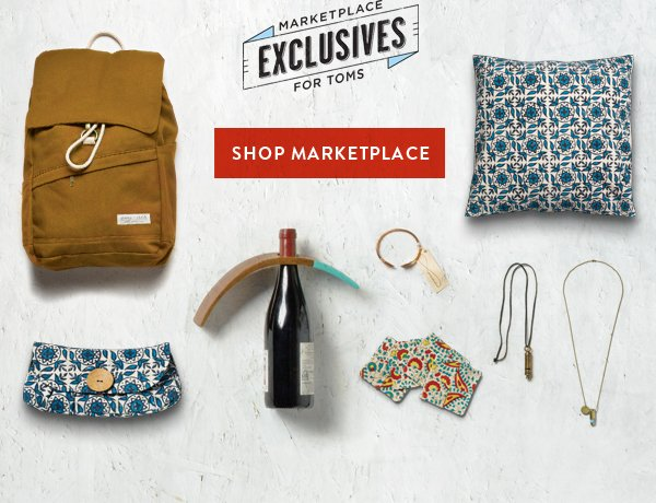 Shop Marketplace Exclusives for TOMS