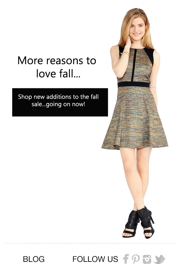 Shop the Fall Sale!