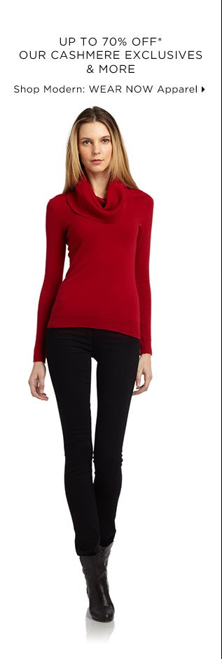 Up To 70% Off* Our Cashmere Exclusives & More
