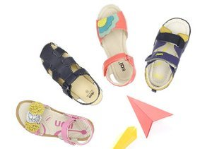 Vacation Station: Kids' Sandals