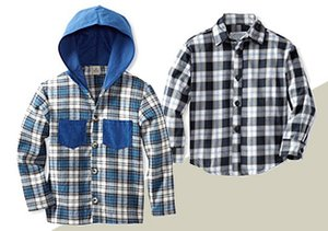 Plaid Attack: Boys' Outfits