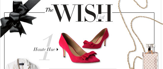 The Wish List  1 - Haute Hue