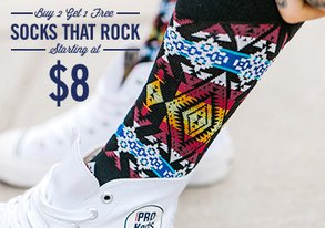 Shop Socks That Rock: 80+ Styles from $8