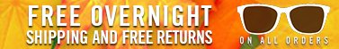 Free Overnight Shipping and Return
