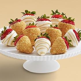 Full Dozen Hand-Dipped Champagne Strawberries