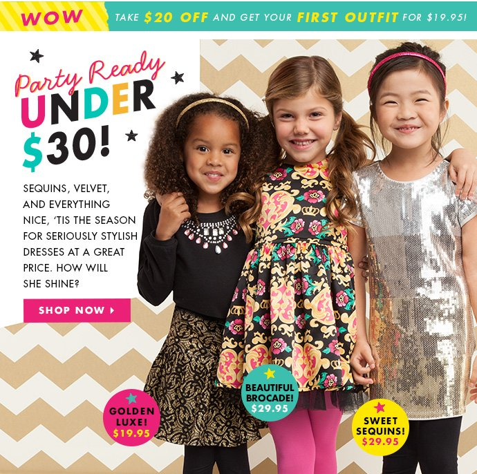 Party Ready Under $30!