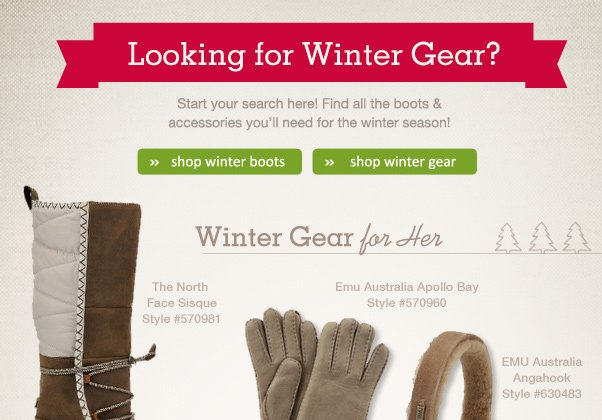 Looking For Winter Gear? Start Here!