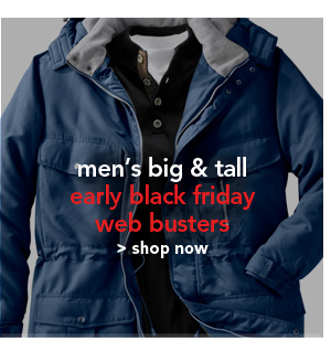Shop Men's Big and Tall Early Black Firday Web Busters