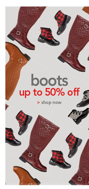 Shop Boots up to 50% off