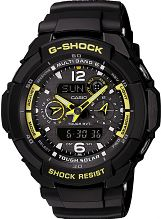 Men's Casio G-Shock Gravity Defier Alarm Chronograph Radio Controlled