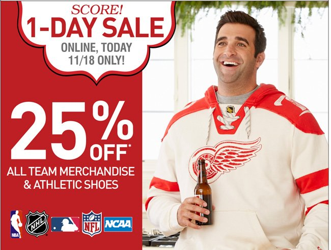 Shop Team Gear and Athletic Shoes