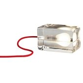 Block Lamp Red Cable