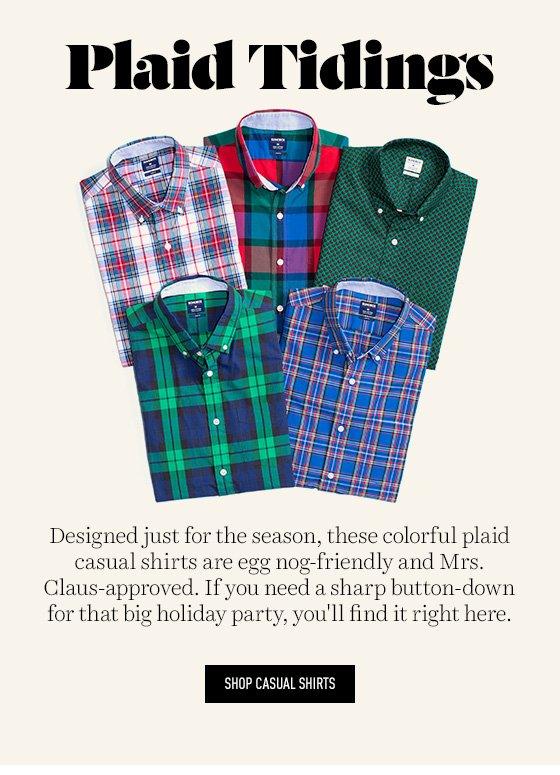 Holiday Plaid Shirts
