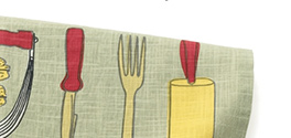 Vera Neumann Apple Pie Recipe Dishtowel  $3.95 Reg. $6.95