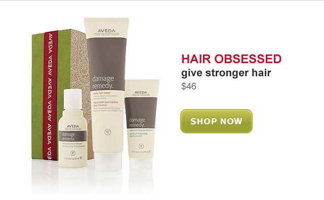 hair obsessed. give stronger hair. shop now.