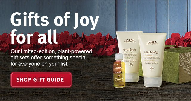 gifts of joy for all. shop gift guide.