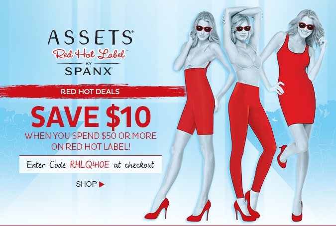 Red Hot Deals! Save $10 when you spend $50 or more on Red Hot Label! Enter code RHLQ410E at checkout. Shop!