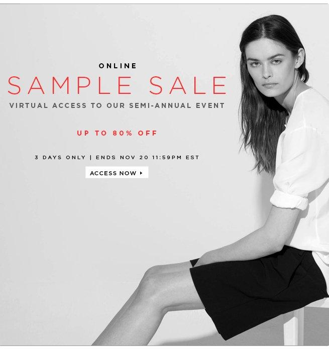 Tibi Online Sample Sale