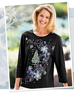 Dress in holiday style! Celebrate the season in our unique festive fashions. Order yours today with free shipping.