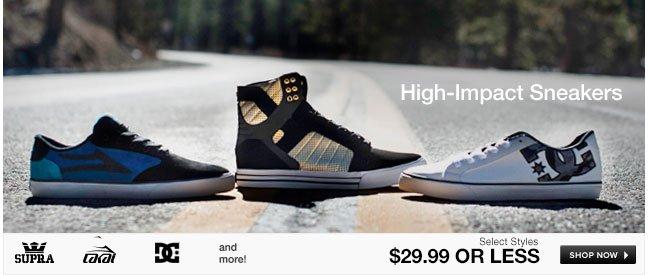 High-Impact Sneakers