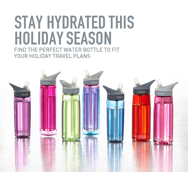 Stay hydrated during the holidays