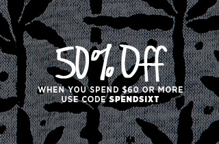 50% off Spend $60