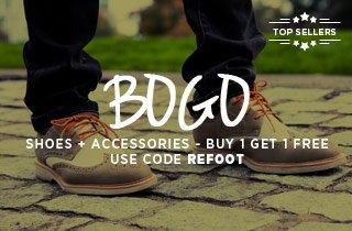 Refresh: Top selling shoes and accessories