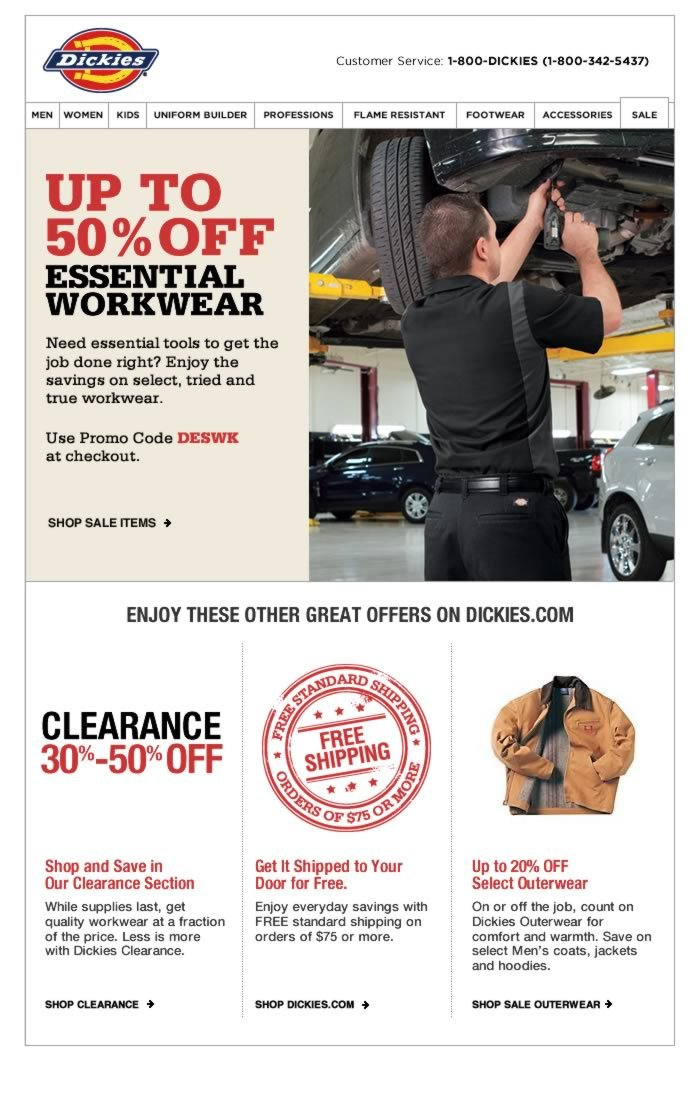 Up to 50% OFF Essential Workwear