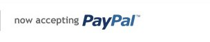 now accepting paypal