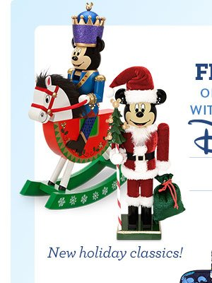 Ends Tomorrow - Enjoy Free Shipping on your entire order with any purchase from Disney Parks CODE: PARKFREE | Shop Now