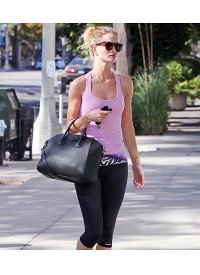 Battle Of The Bulge:  Shape Up With Chic Workout Wear