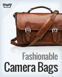 Fashionable Camera Bags