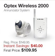 Optex Wireless 2000