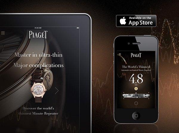 Master in ultra-thin major complications iPhone-iPad app