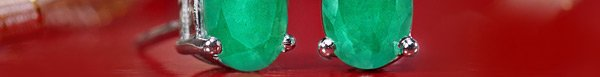 FREE $485 .75 ct. t.w. Authentic Emerald Earrings