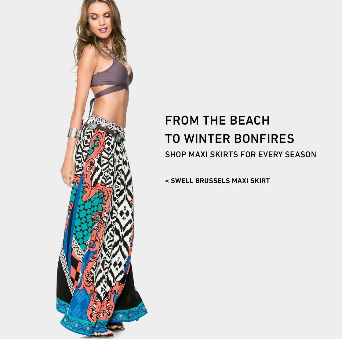 Shop New Maxi Skirts
