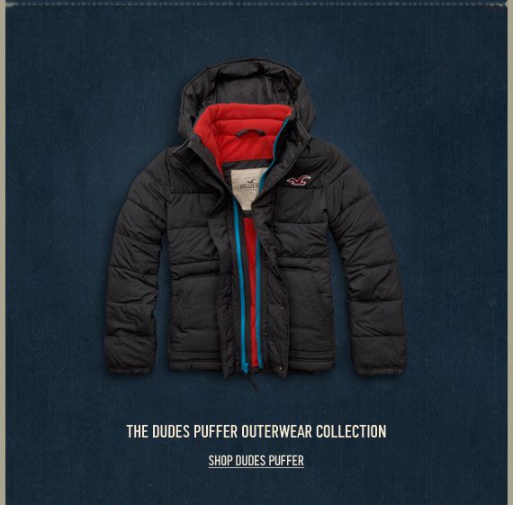 THE DUDES PUFFER OUTERWEAR  COLLECTION SHOP DUDES PUFFER