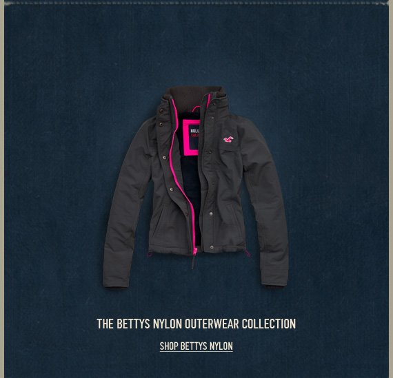 THE BETTYS NYLON OUTERWEAR  COLLECTION SHOP BETTYS NYLON