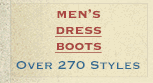 Mens Dress Boots on Sale